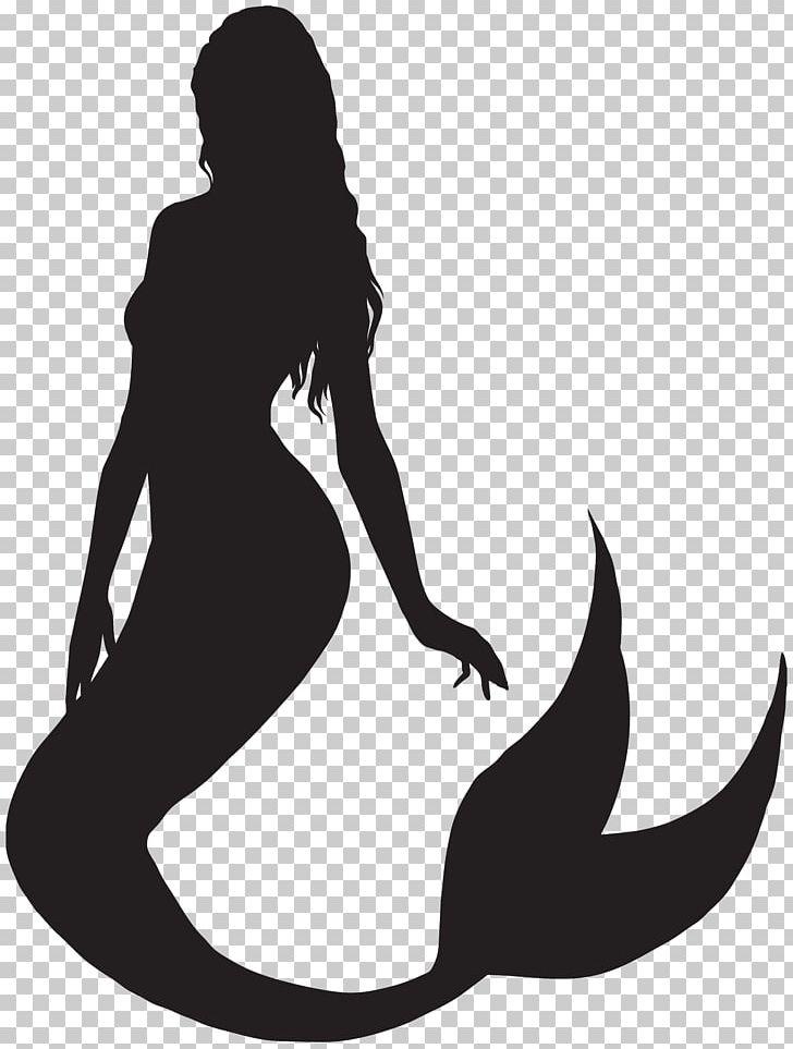 Ariel Mermaid Silhouette PNG, Clipart, Ariel, Art, Art.