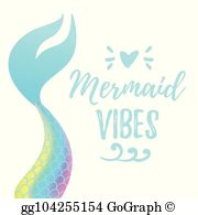 Mermaid Tail Clip Art.