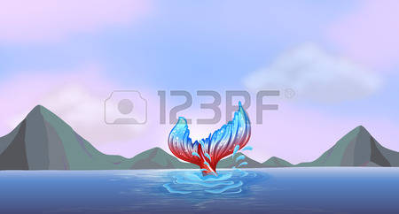 1,497 Mermaid Tail Stock Vector Illustration And Royalty Free.