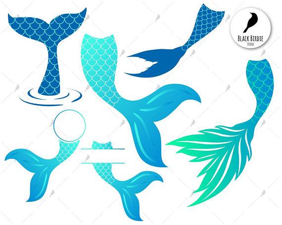 Mermaid tail svg, mermaid svg, mermaid tail clipart, whale.