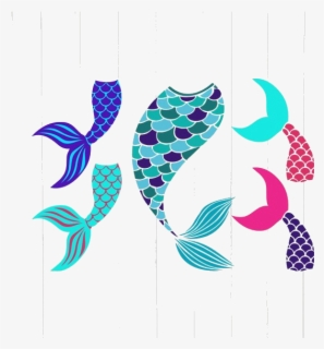 Free Mermaid Tail Clip Art with No Background.