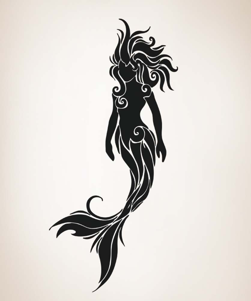 mermaid Silhouette.