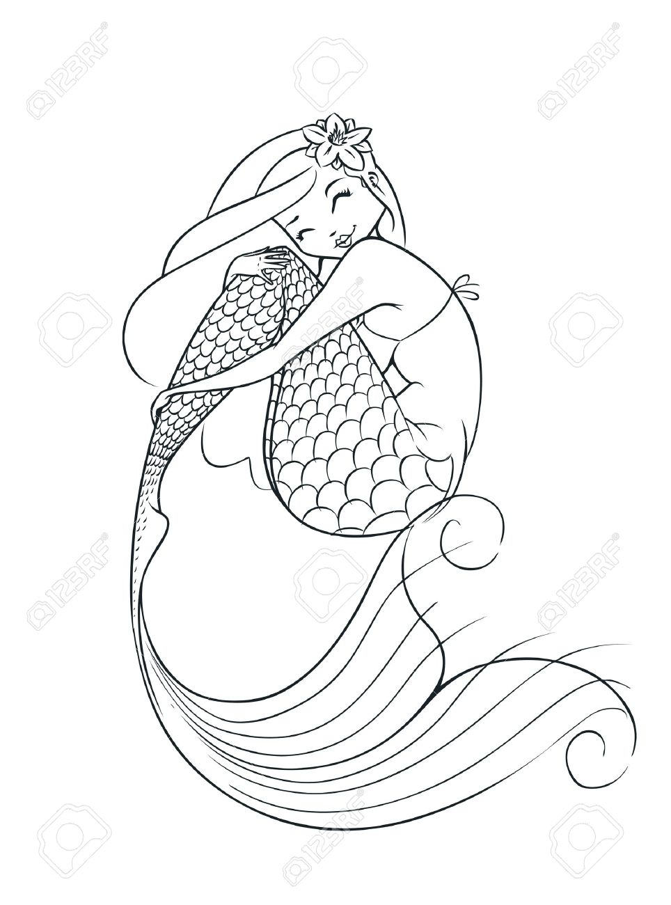 4,395 Mermaid Stock Illustrations, Cliparts And Royalty Free.
