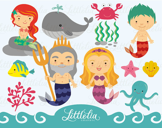 Merman Clipart Clipground