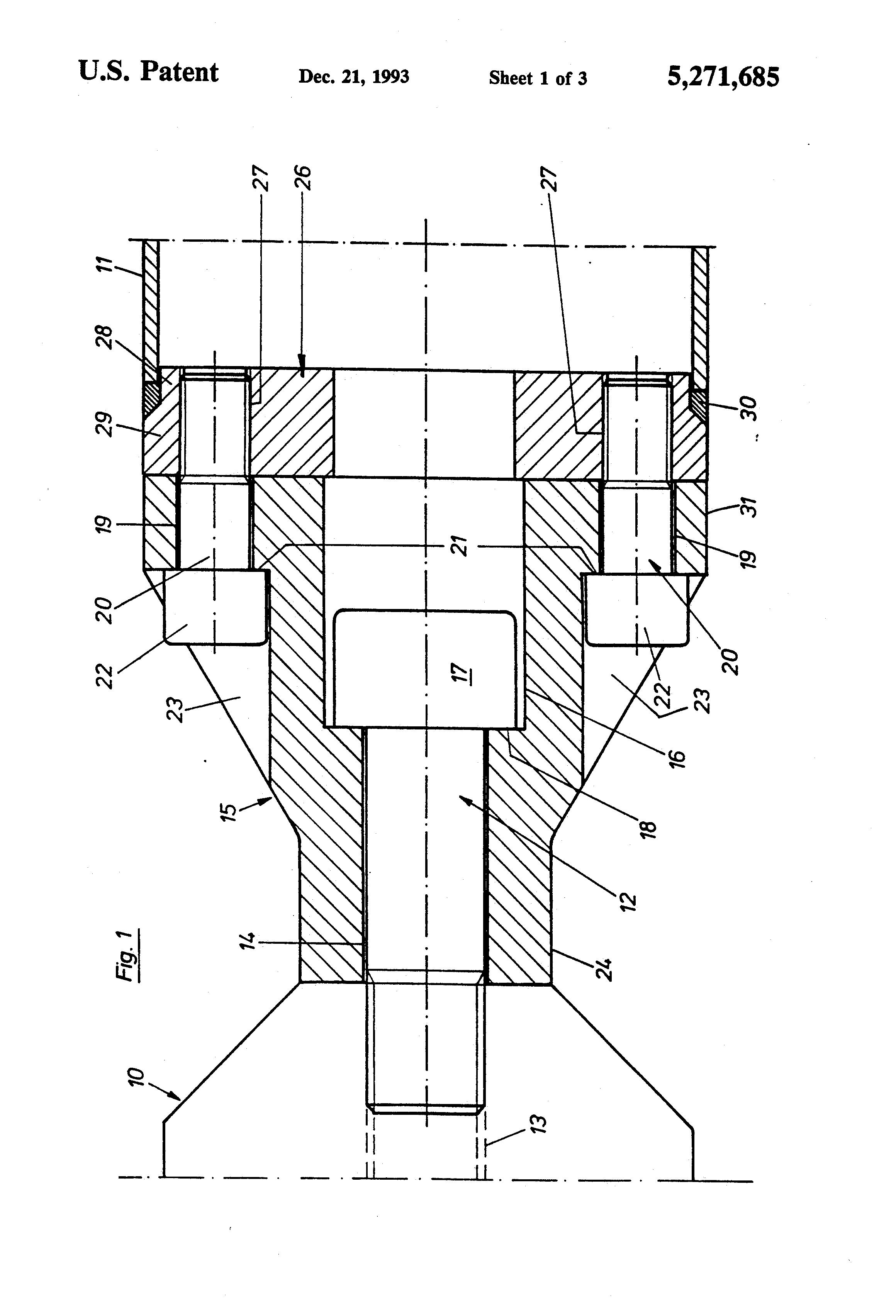 Patent US5271685.