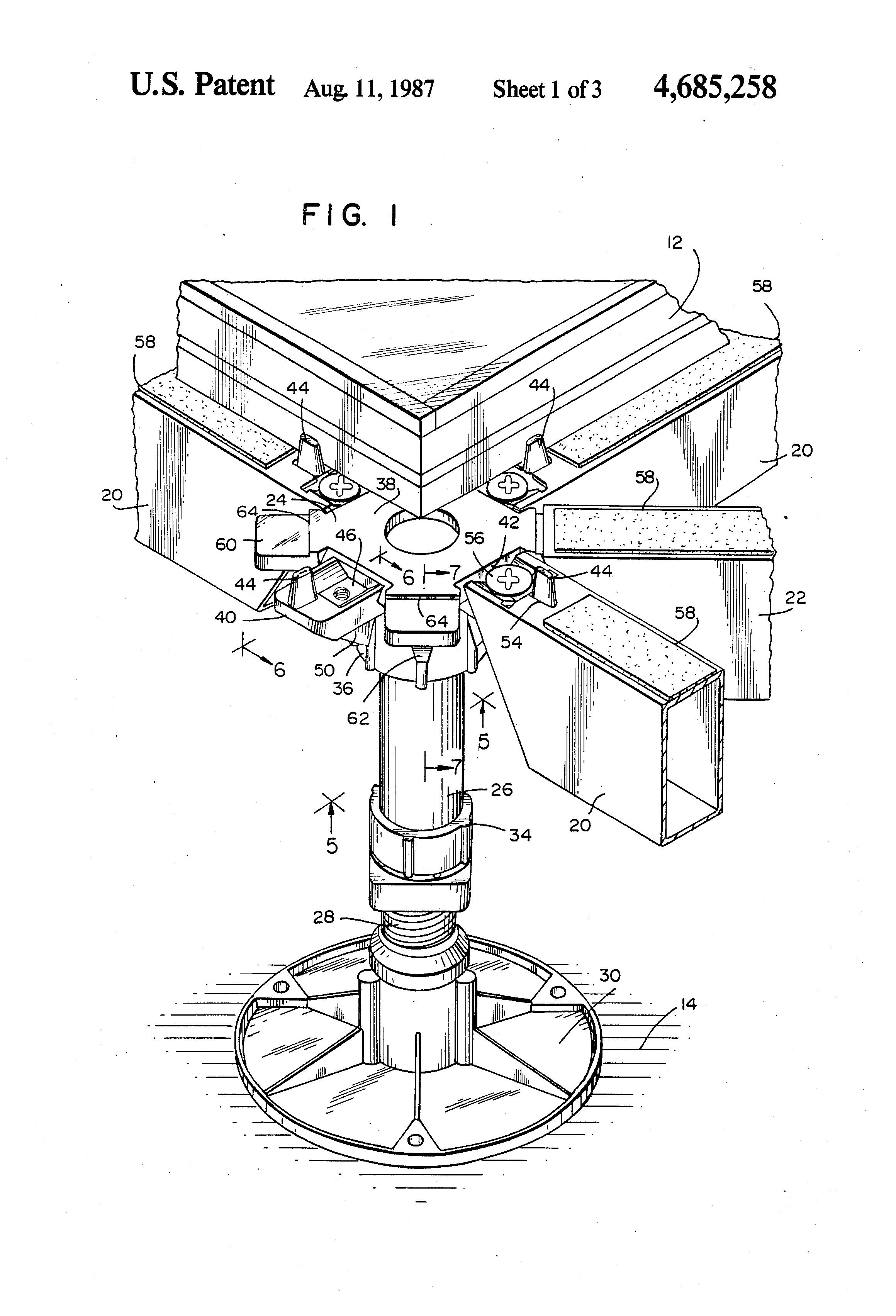 Patent US4685258.