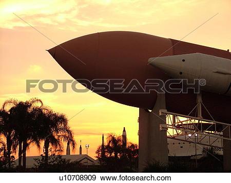 Stock Photograph of Cape Canaveral, Titusville, Merritt Island, FL.