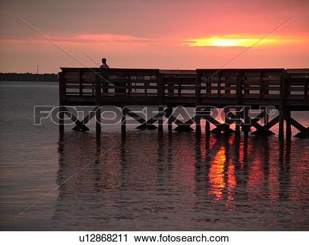 Stock Photography of Titusville, Merritt Island, FL, Florida.