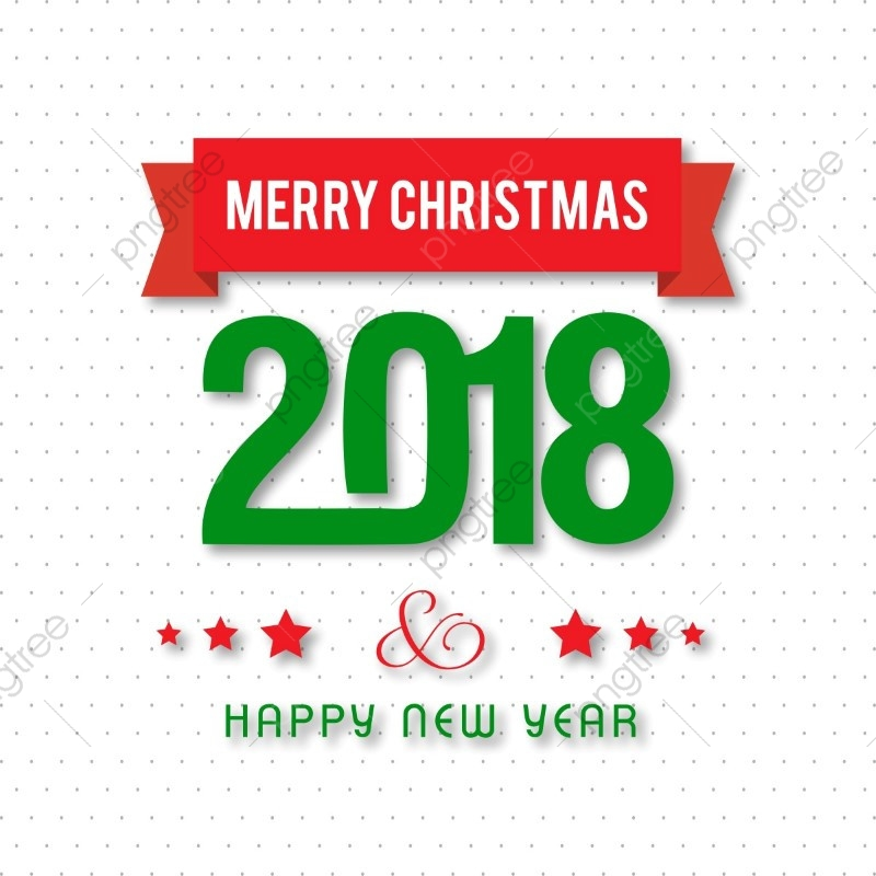 Merry Christmas 2018 Pattern, Christmas, Card, Merry PNG and.