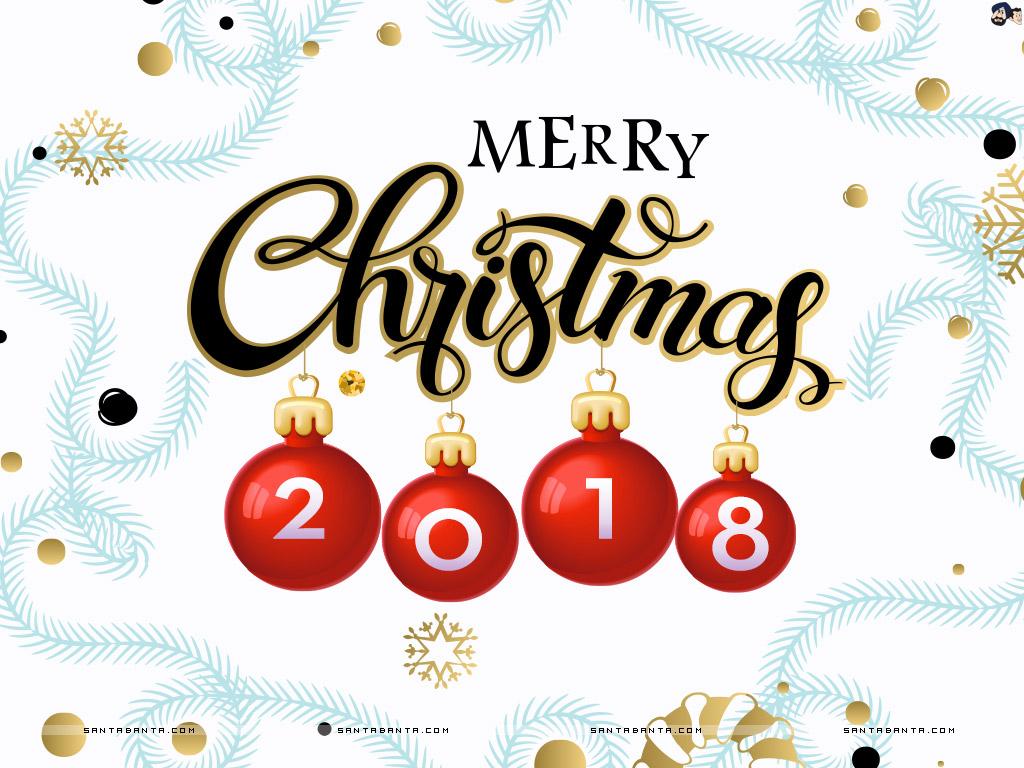 Celebrating Christmas 2018.