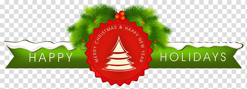 Happy Holidays illustration, Christmas Holiday Happiness.