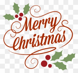 Free PNG Merry Christmas And Happy Holidays Clip Art.