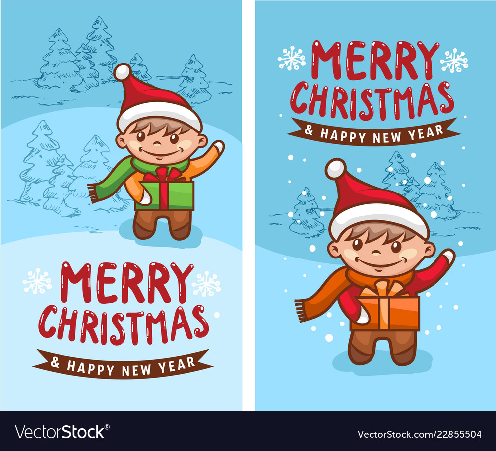 Merry christmas happy new year 2019 2 funny card.