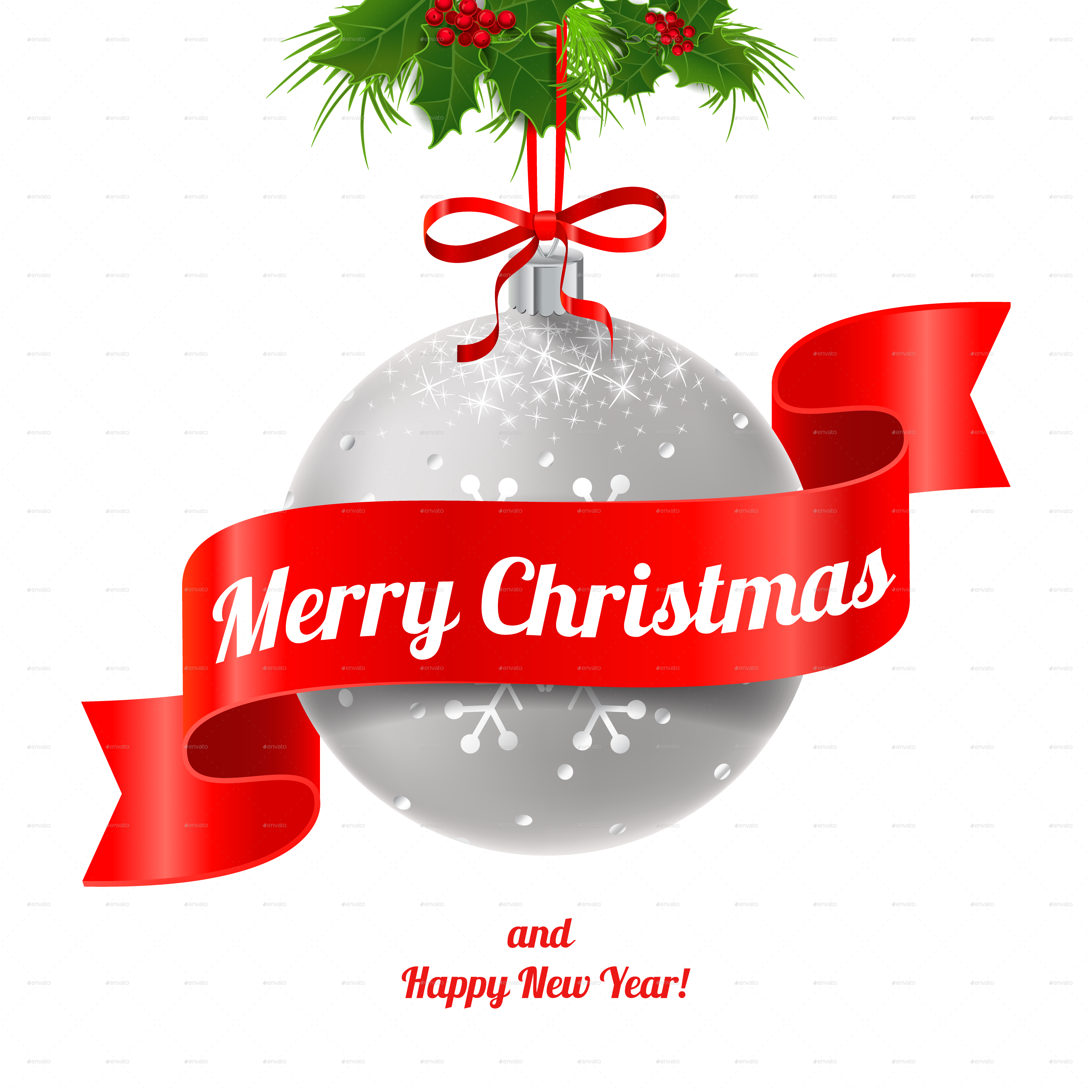 Merry christmas and happy new year images clipart images.