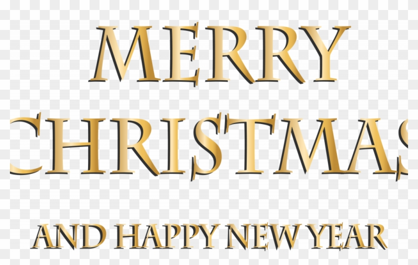 Merry Christmas And Happy New Year Printable Banner.