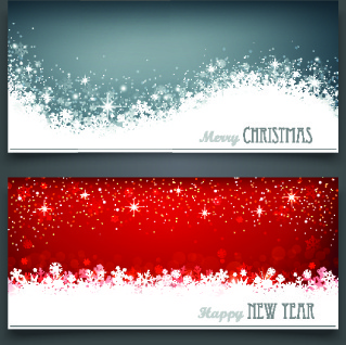 Merry christmas banner clip art free vector download.