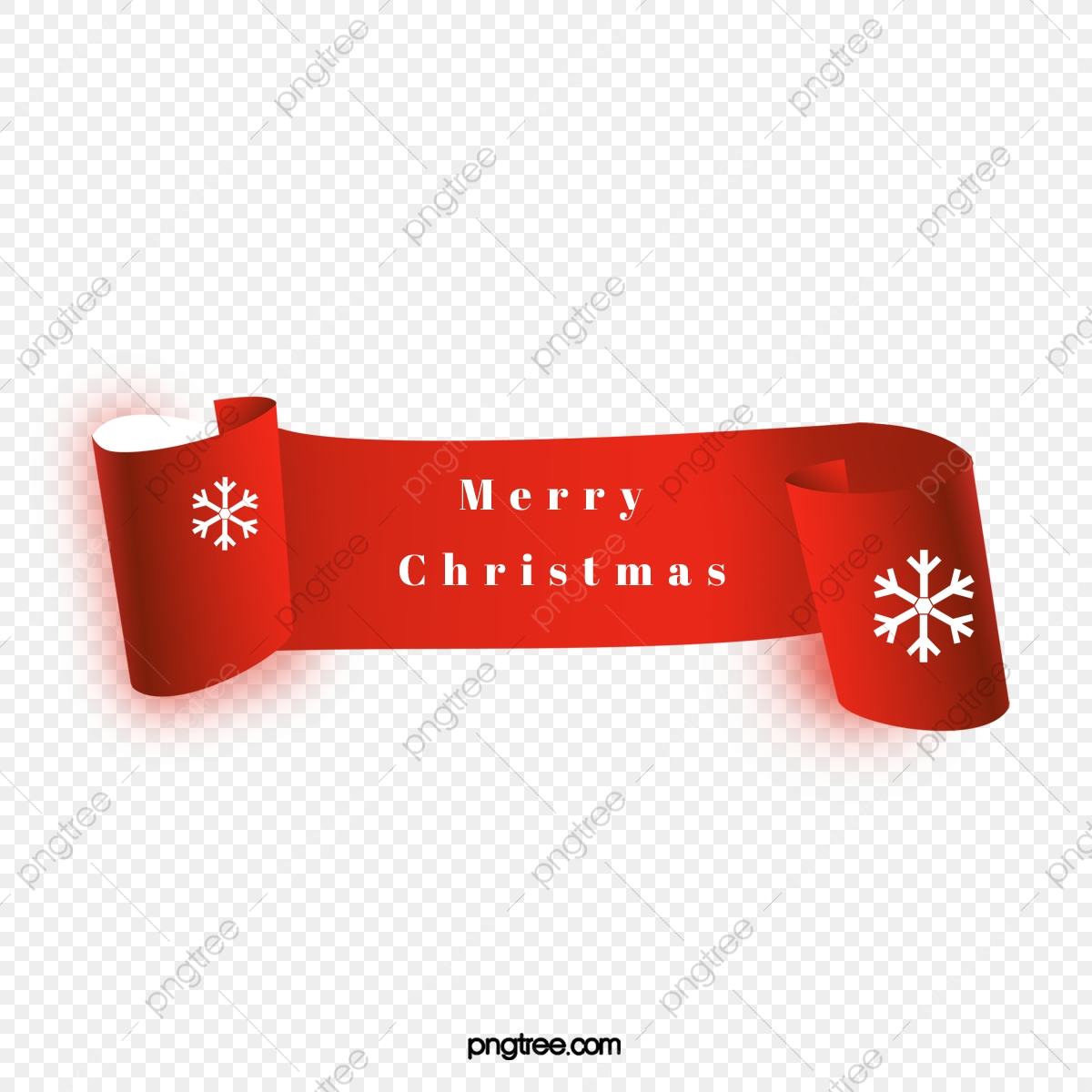 Crimping Merry Christmas Banner Vector, Merry Christmas.