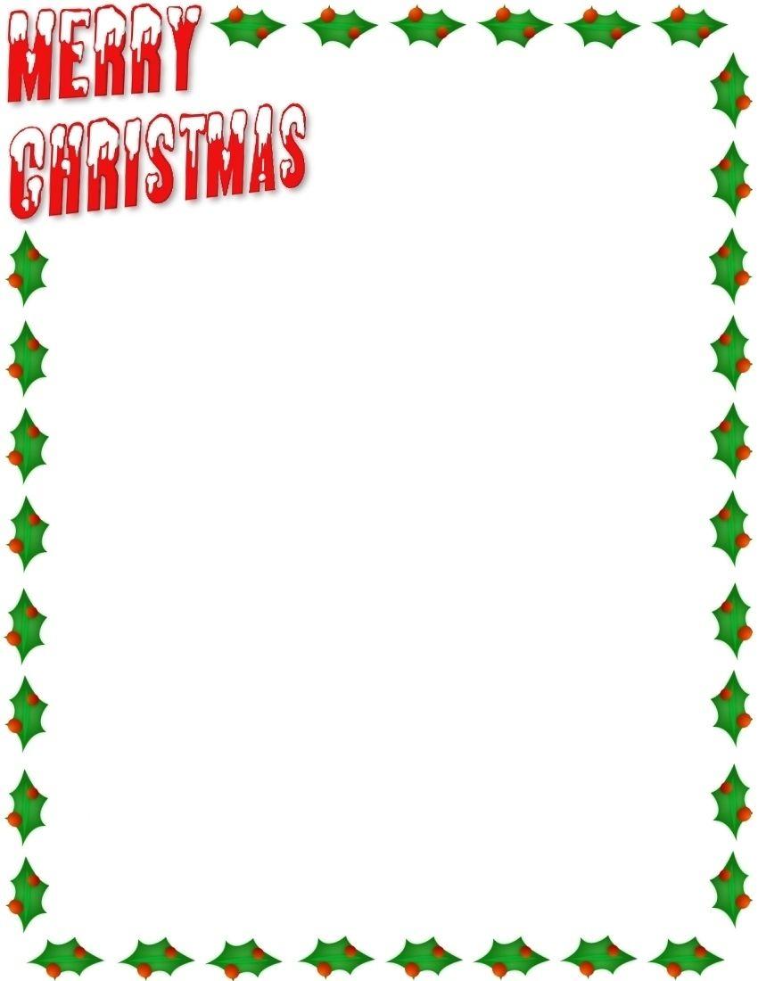 Christmas borders christmas letter borders christmas moment.