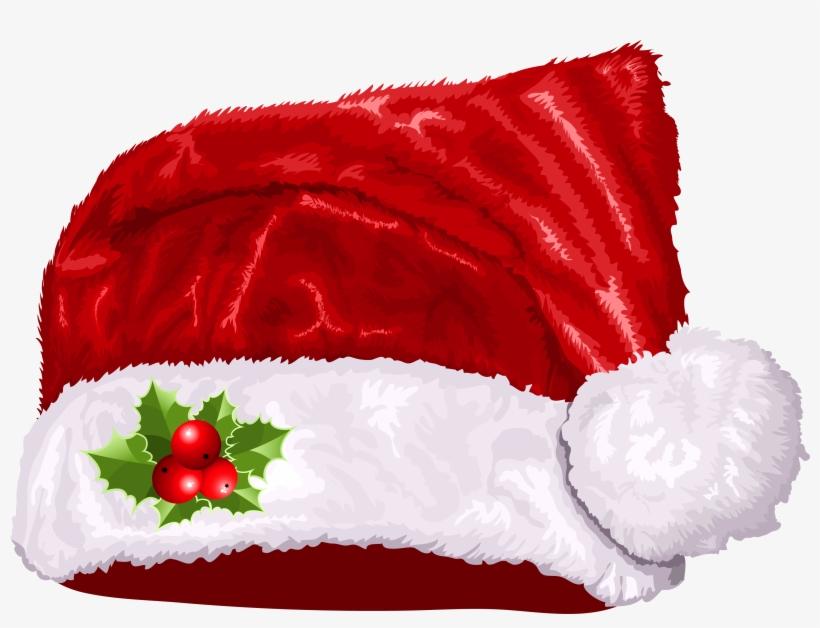 Large Transparent Christmas Santa Hat Png Clipart.
