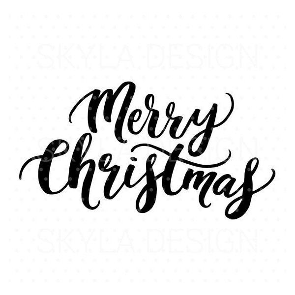 Clipart Printable Merry Christmas.