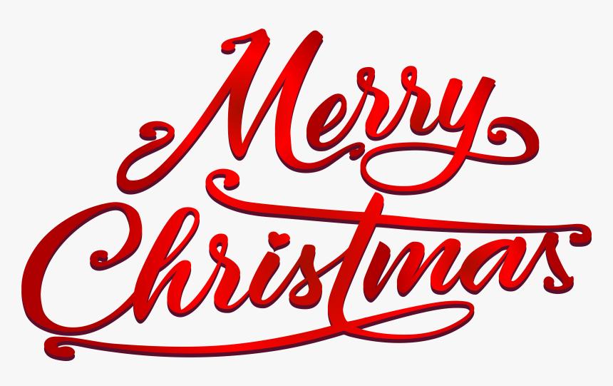 Merry Christmas Text Png Clip Art Imageu200b Gallery.