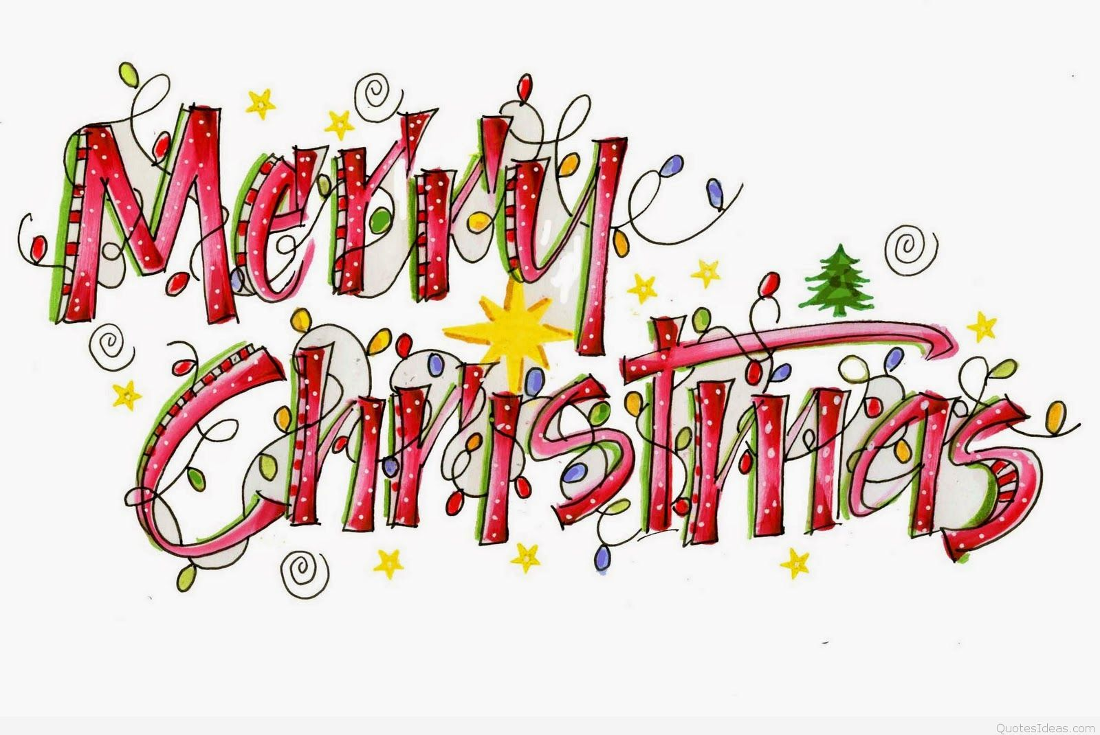Merry Christmas Funny Quotes Sayings With Cartoons