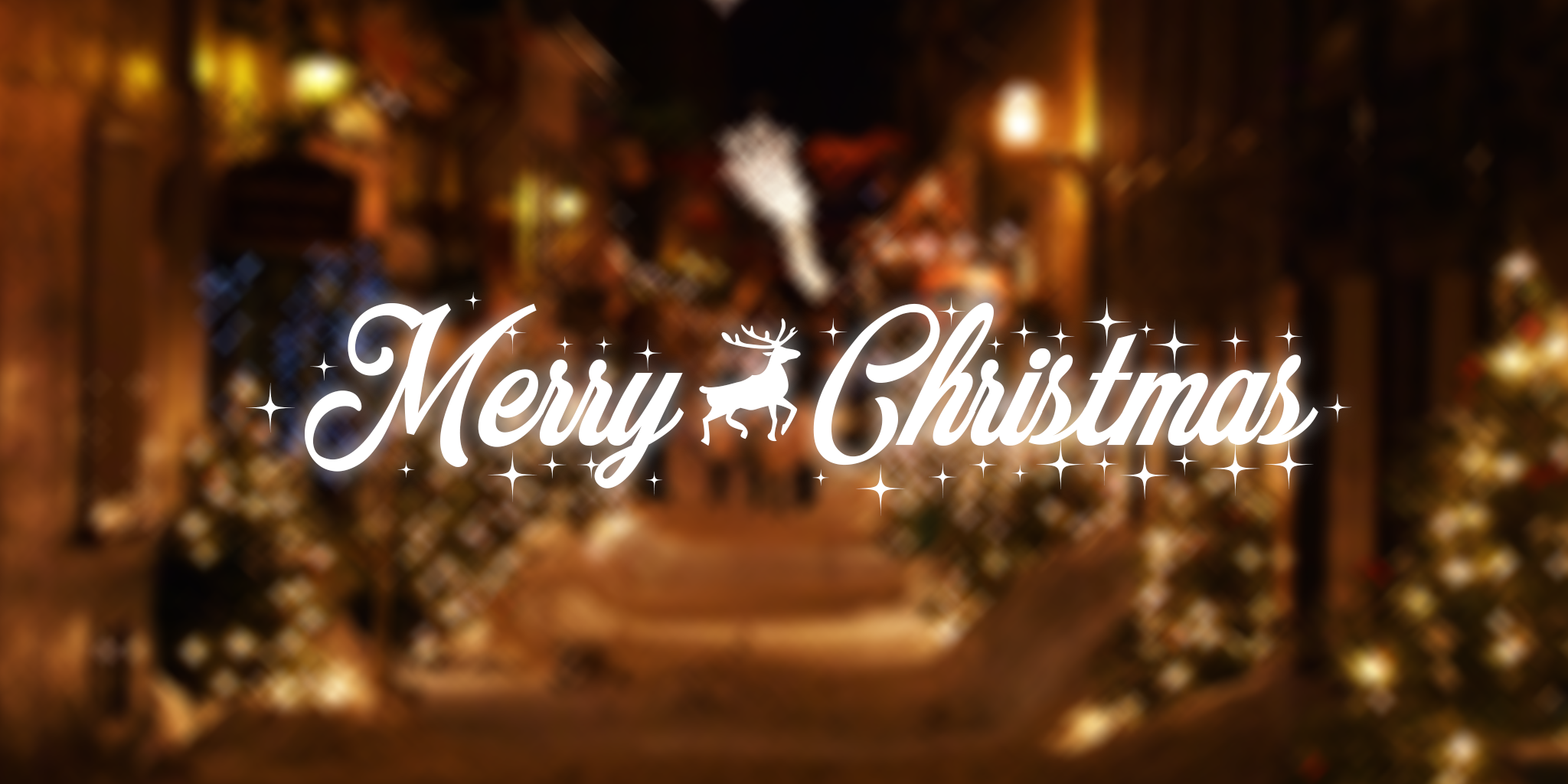 Merry Christmas Font.