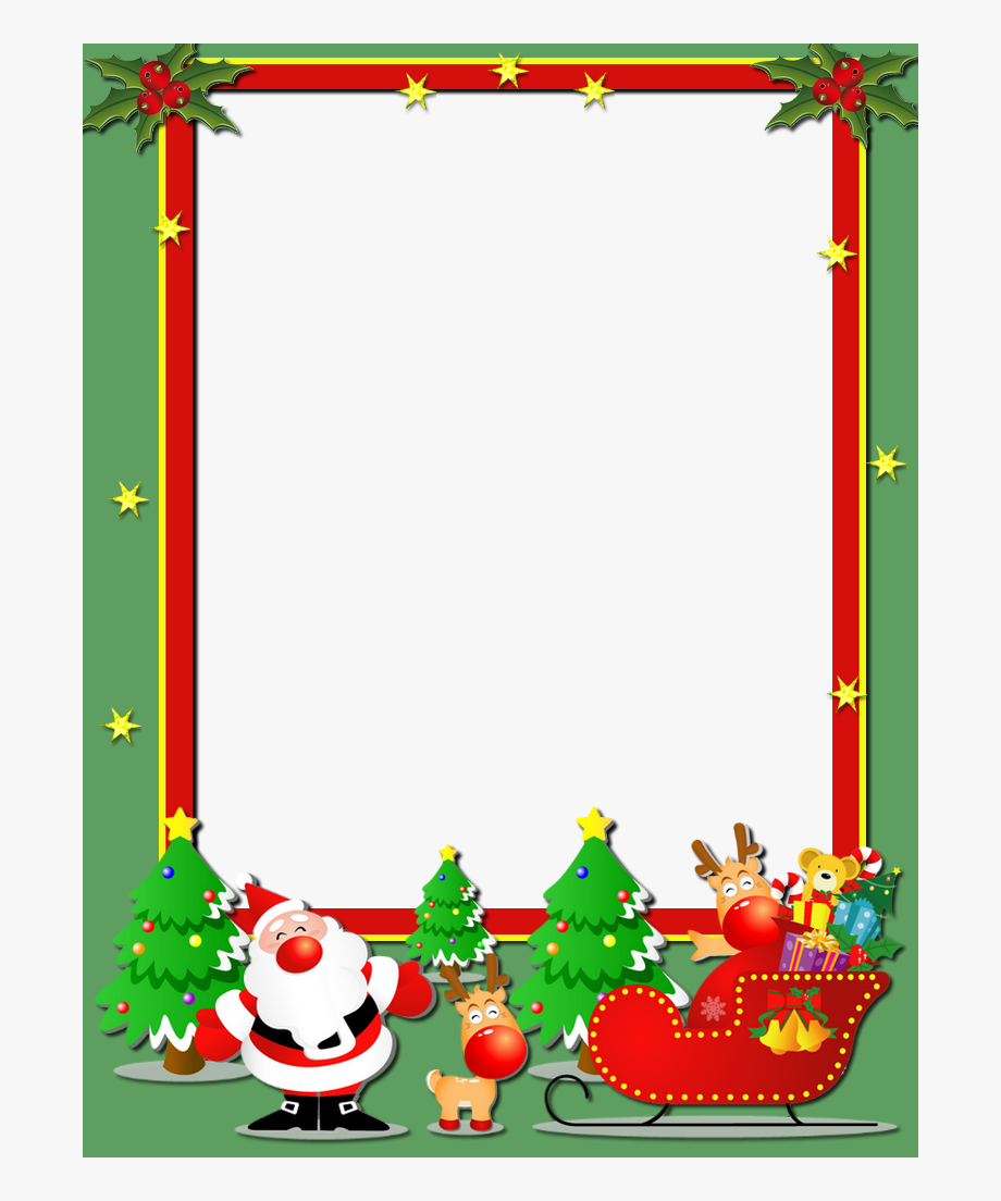 Christmas Frames, Merry Christmas, Printable Templates.