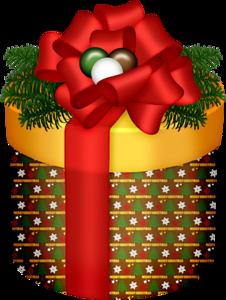 CHRISTMAS GIFT CLIP ART.