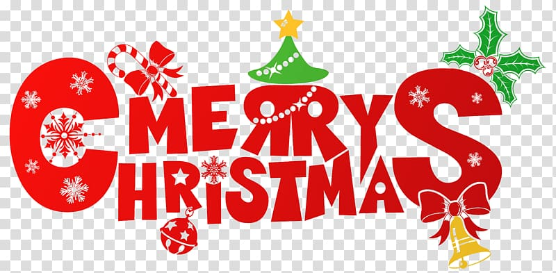 Christmas gift , Merry Christmas transparent background PNG.