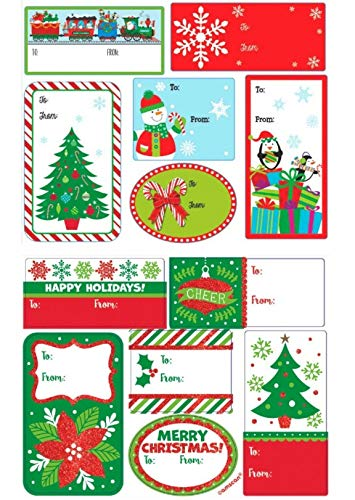Amazon.com: 96 Self Adhesive Christmas Gift Labels.