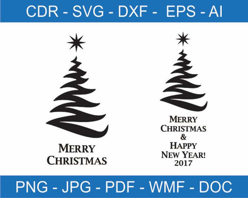 Merry Christmas and Happy New Year Clipart, Merry Christmas SVG file, Merry  Christmas PNG file, Merry Christmas DXF file, Cricut files.