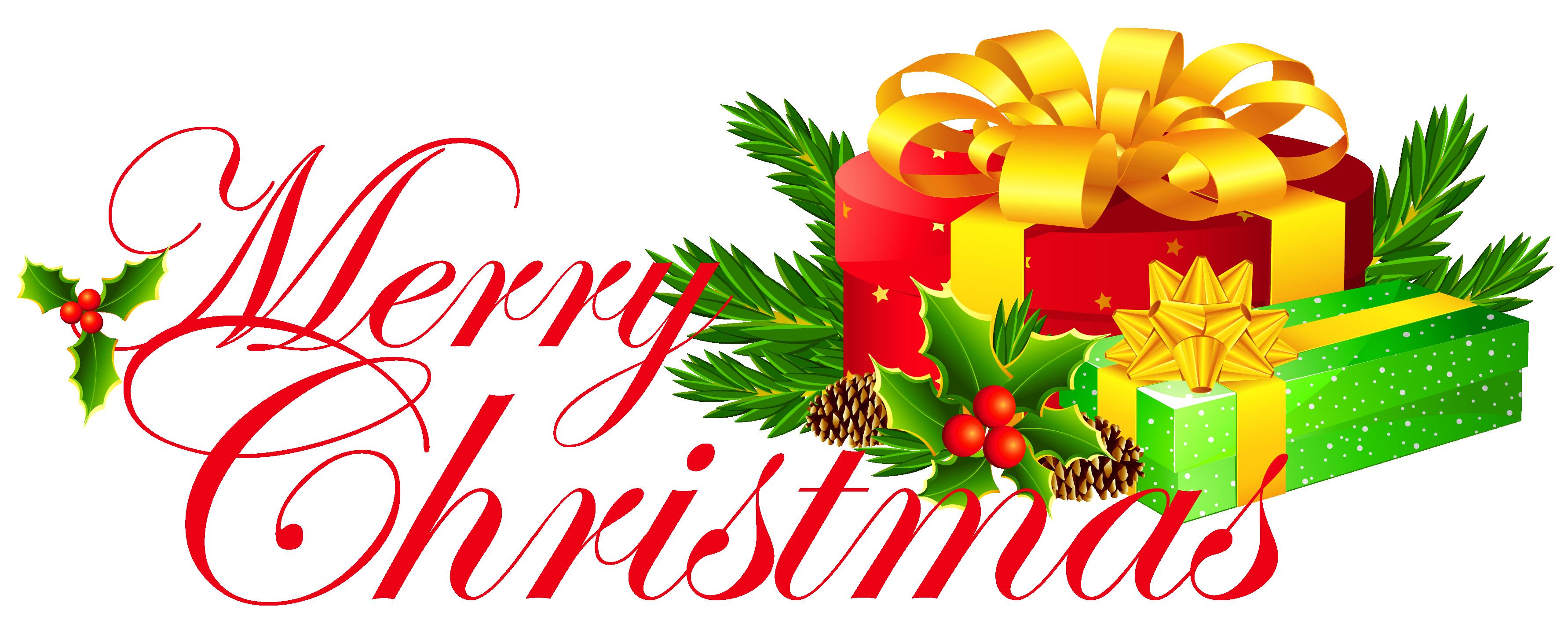 Christmas clip art santa behind a christmas tree clip art.