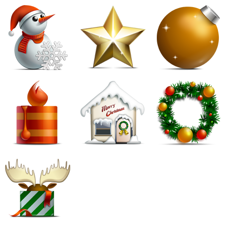 Christmas Tree Icon clipart.