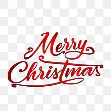Merry Christmas Text Png, Vector, PSD, and Clipart With.