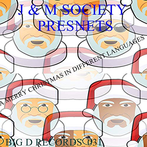 A Merry Christmas In Different Languages by J & M Society on.