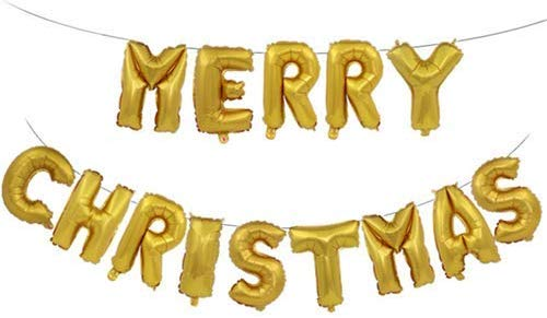 16 inch Letter Foil Balloons Merry Christmas Alphabet Air.