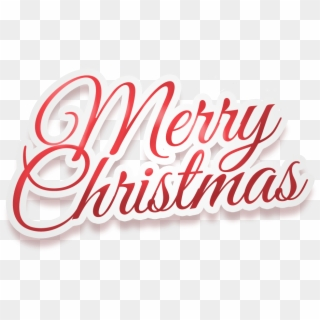 Free Merry Christmas Logo PNG Images.