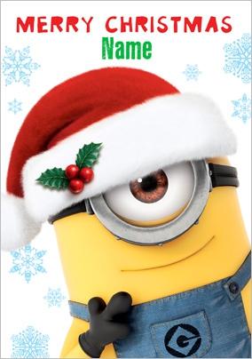 Merry Christmas Minion Clipart#2221239.