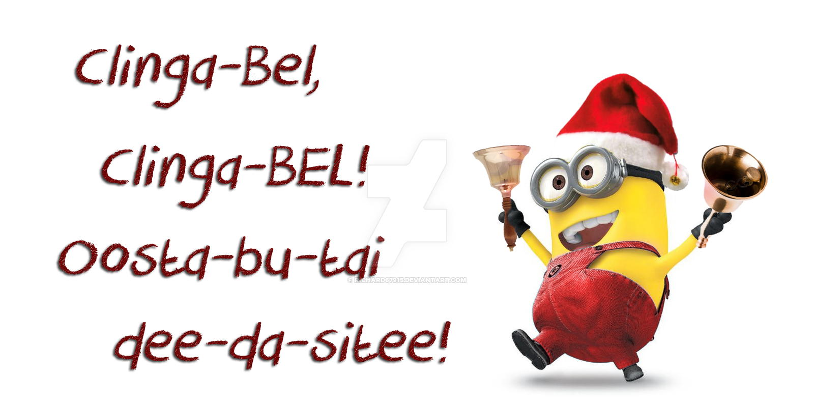 Funny Minion Merry Christmas Wallpapers Sayings: Merry Christmas Minions Clipart