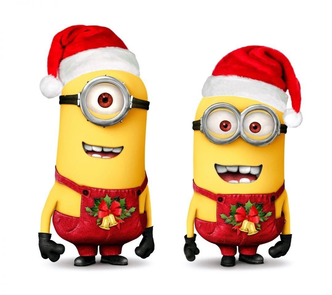 Minions Christmas Clipart.