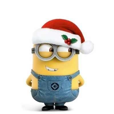 Christmas Clipart Funny Minion.