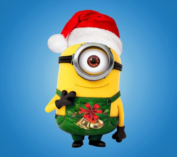 merry christmas minions clipart