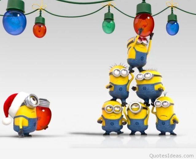 Christmas Clipart Funny Minion.