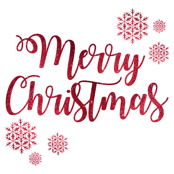 Merry Christmas PNG Transparent Images.
