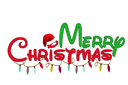 MERRY CHRISTMAS PNG TEXT AND EFFECTS.