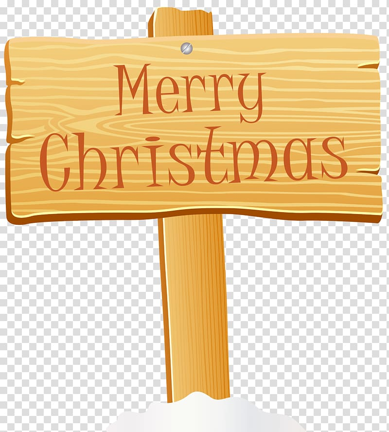 Merry Christmas wood signboard illustration, Christmas Sign.