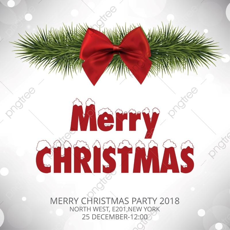 Merry Christmas Typography, Christmas Vector, Background.