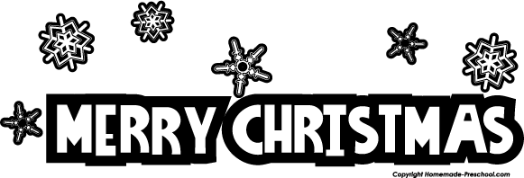 Christmas black and white merry christmas clip art black and white happy holidays 4