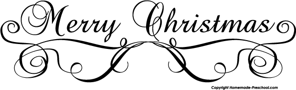 Christmas black and white merry christmas black white clipart 4.